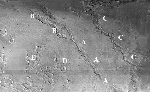 Dao, Niger, and Harmakhis Vallis image map